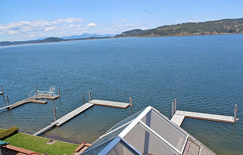 180 Degree CDA Lake Views