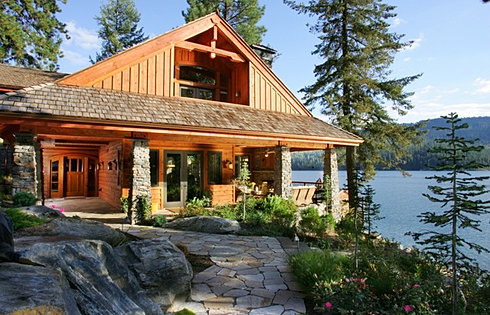 CDA Lake Waterfront Estate