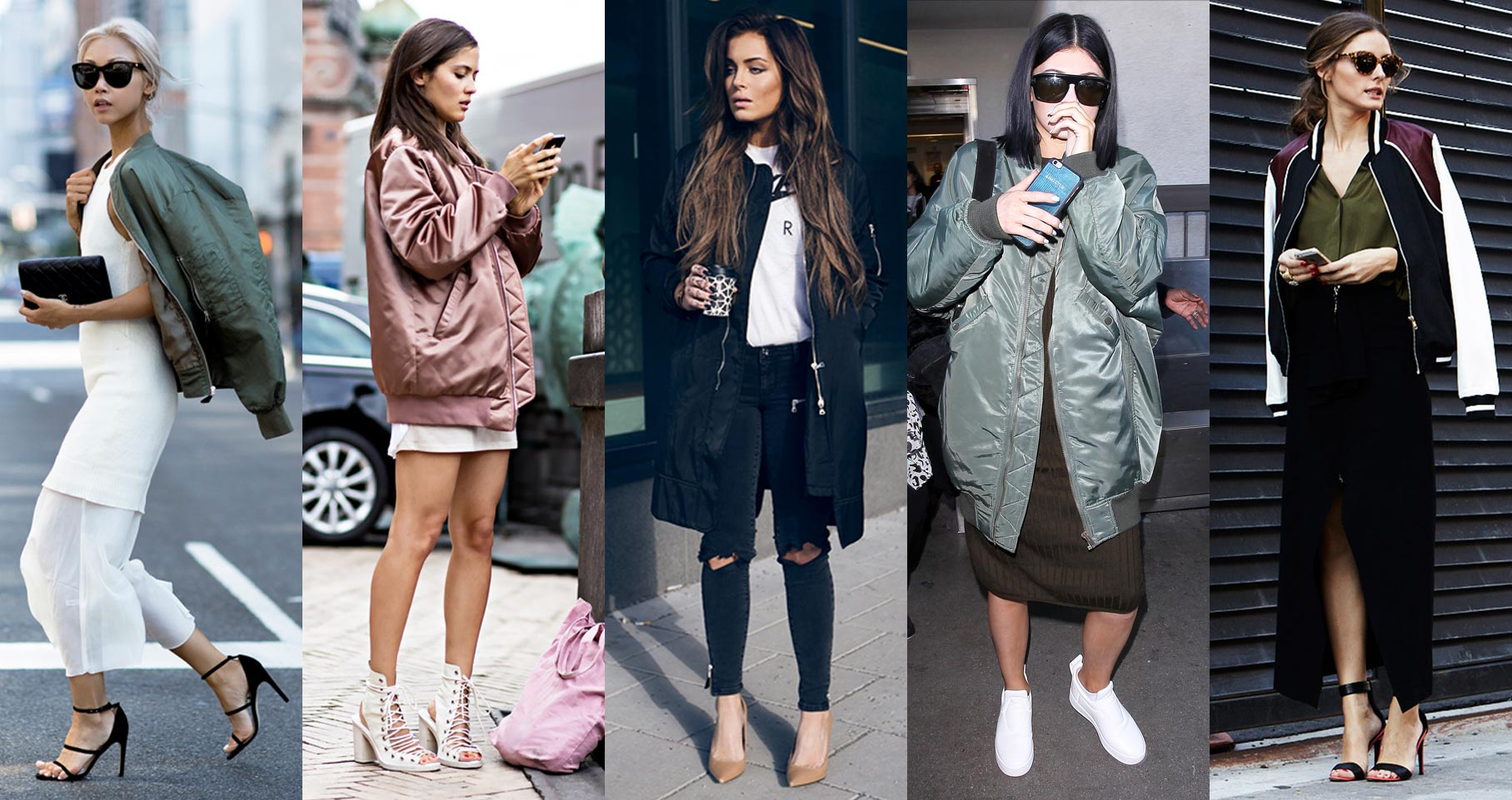 The Bomber Jacket: Must-Have For Spring & Where To Get It   Curly ...