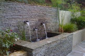 Outdoor Wall Fountain landscape fountains, custom fountain garden,kansas city,fountain compa