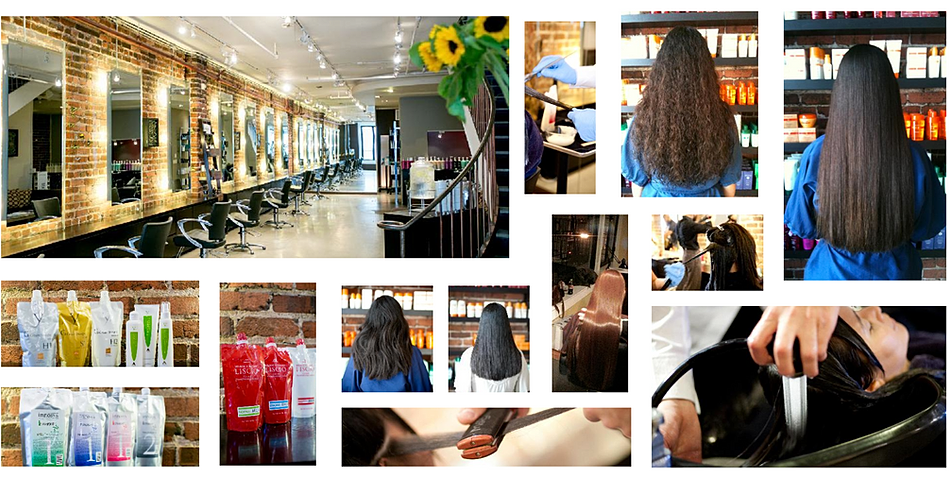 Japanese Hair Straightening And Thermal Reconditioning In