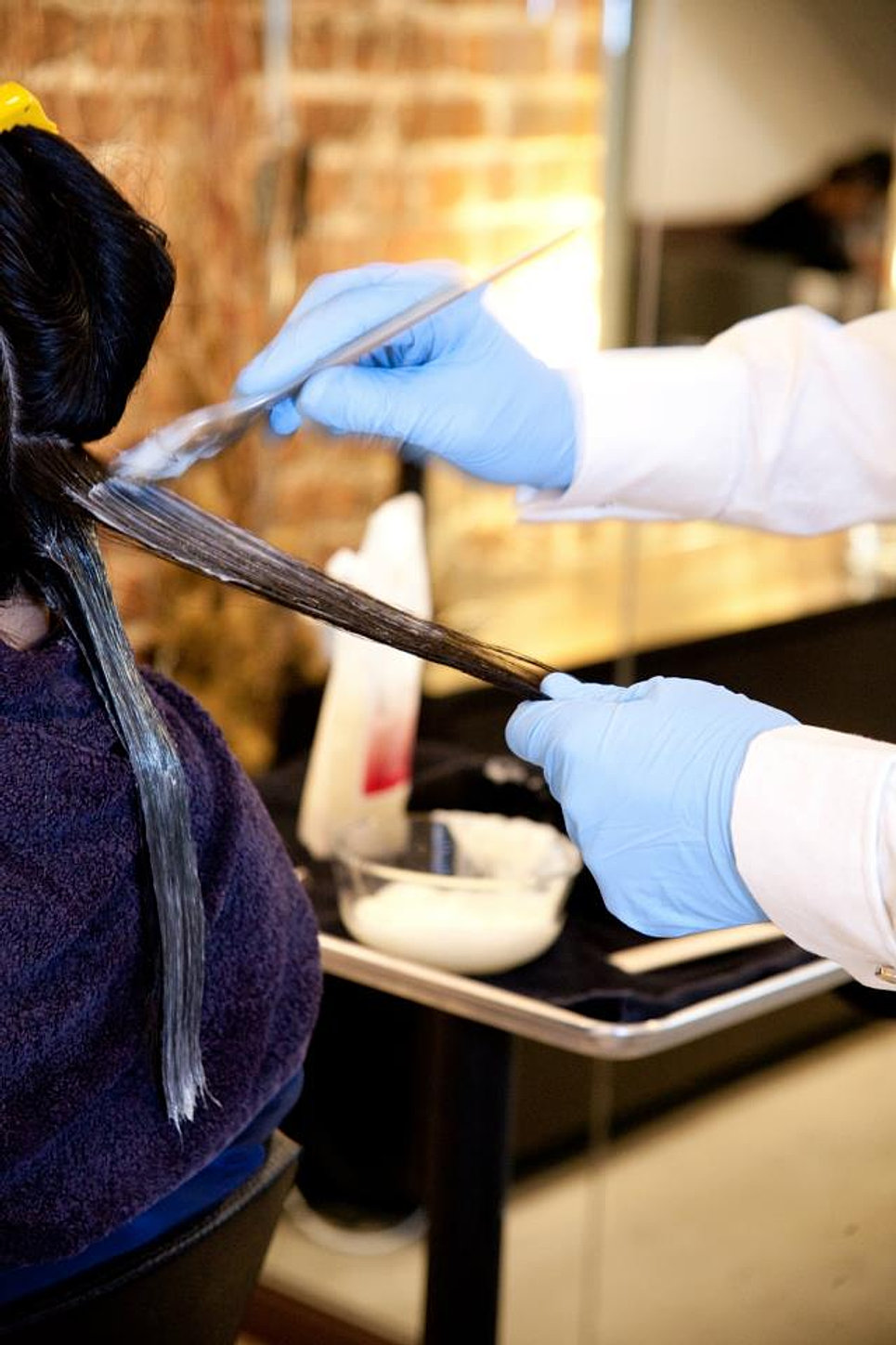 How Japanese Hair Straightening Works