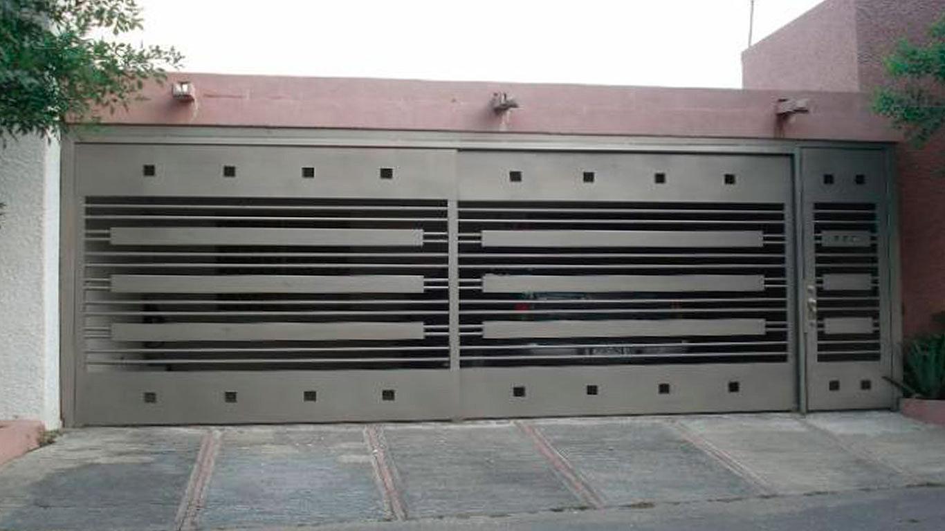 Puertas autom ticas intesmex m xico d f cotiza - Rejas de diseno moderno ...