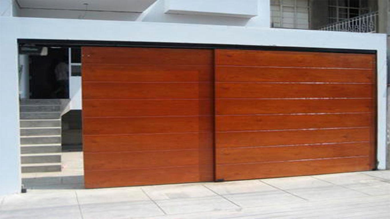 Puertas autom ticas intesmex m xico d f cotiza for Puertas de madera para cochera