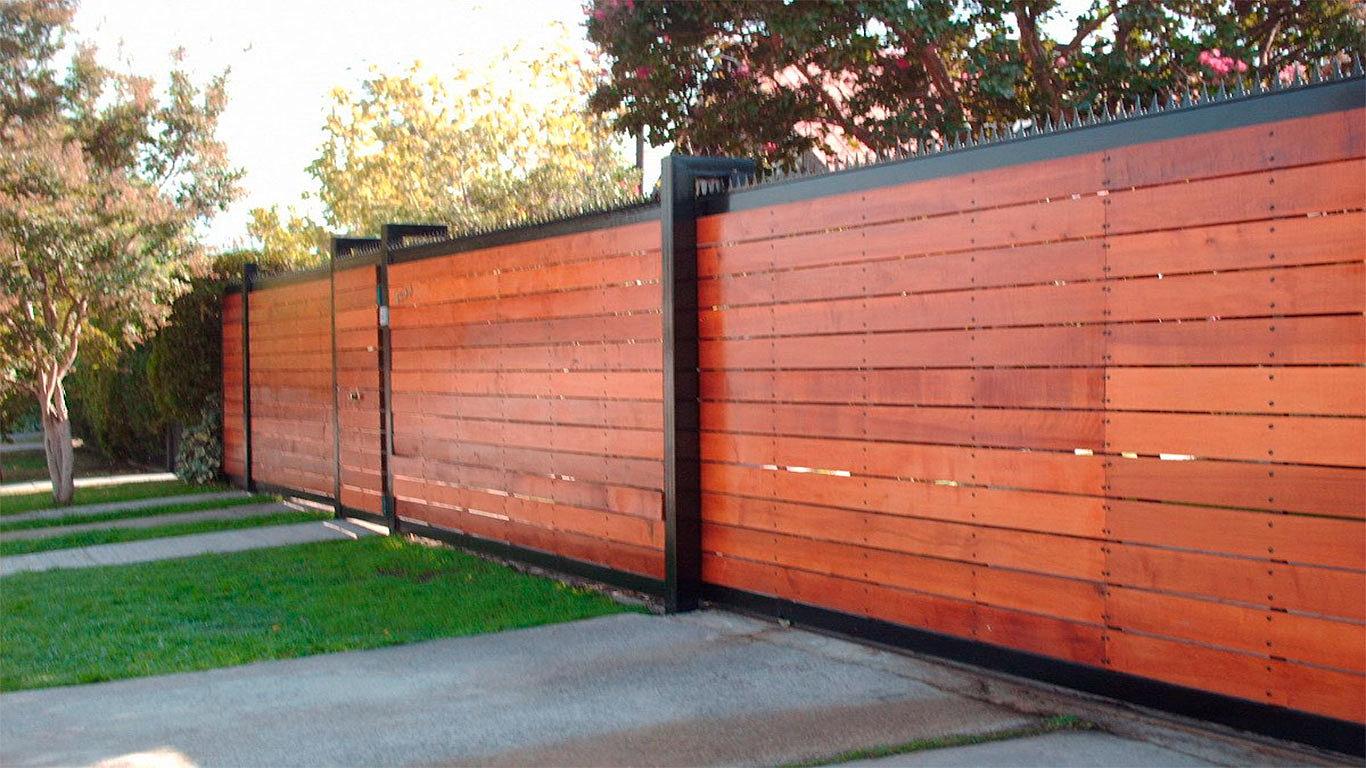 Puertas autom ticas intesmex m xico d f cotiza - Portones de madera para exterior ...