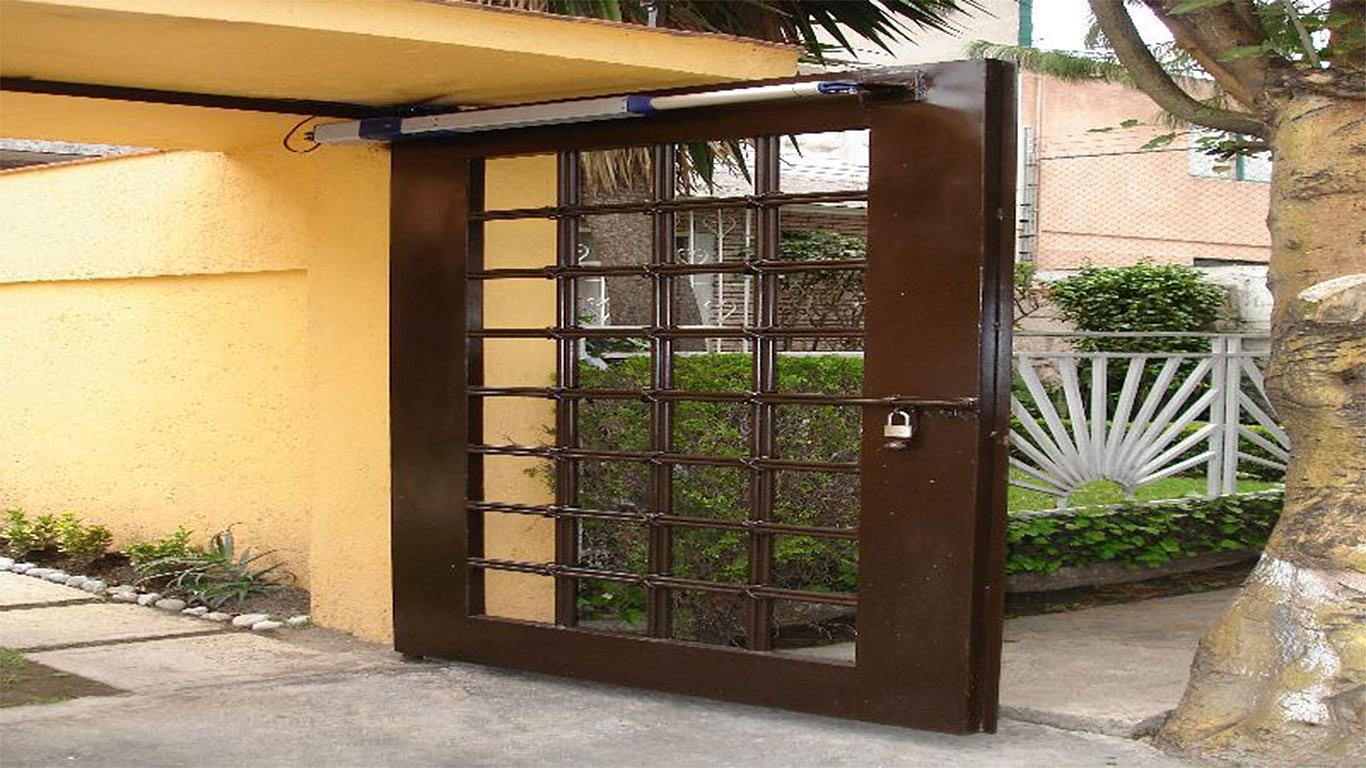 Puertas autom ticas intesmex m xico d f cotiza for Bancas para jardin de herreria