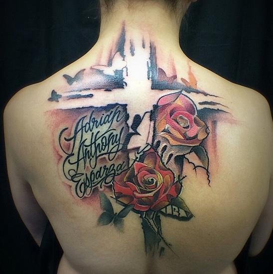 Yeyo mondragon watercolor tattoo artist in denver colorado for Tattoo artist denver