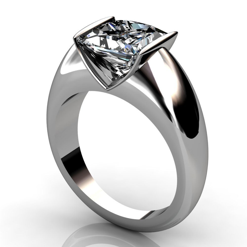 2 ct princess cut oval ring