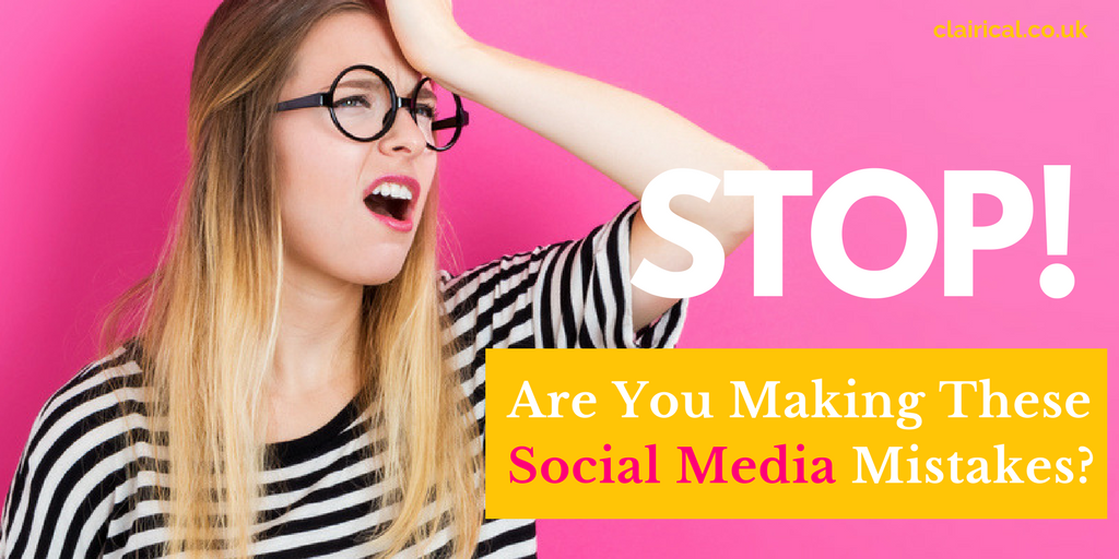 Are You Making These Social Media Mistakes?