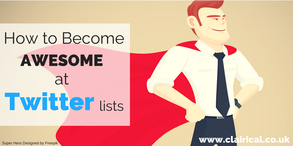 Why YOU Should Be Using Twitter Lists