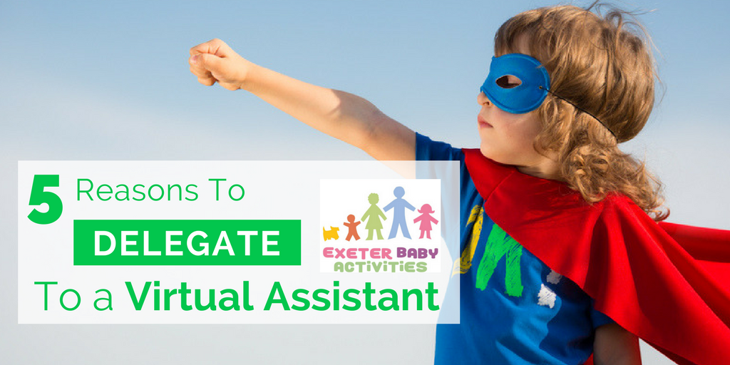 5 Reasons to Delegate Projects to a Virtual Assistant