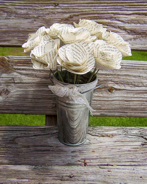 Recycled Paper Wedding Decorations