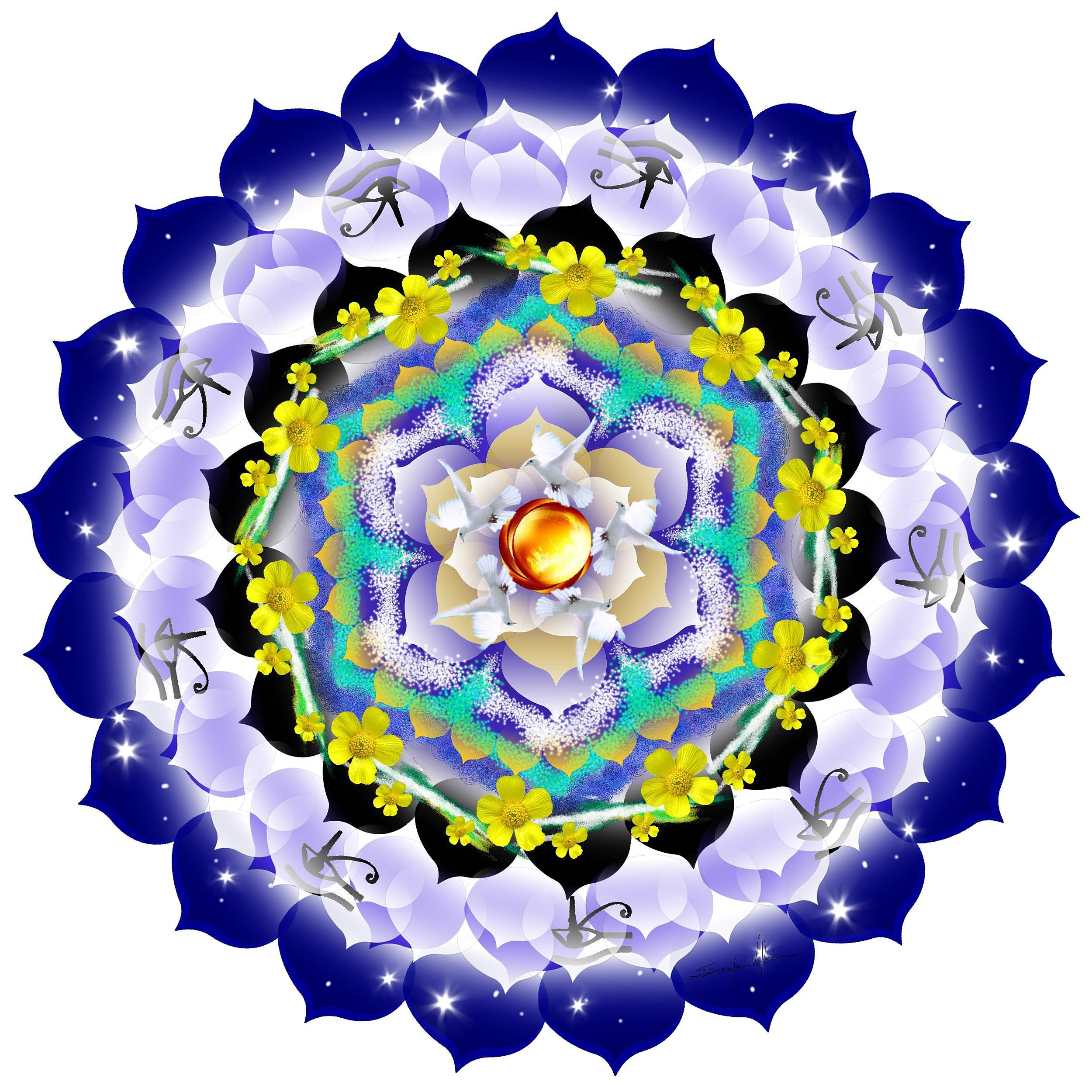 A fragment of spiritual harmony 5