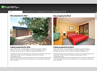 Property Pro Template - Create your own stunning real estate business site with this ready-made website design. This high quality dynamic template is easy to customize. Simply add your logo, property images and text and promote your real estate business online in a Flash.
