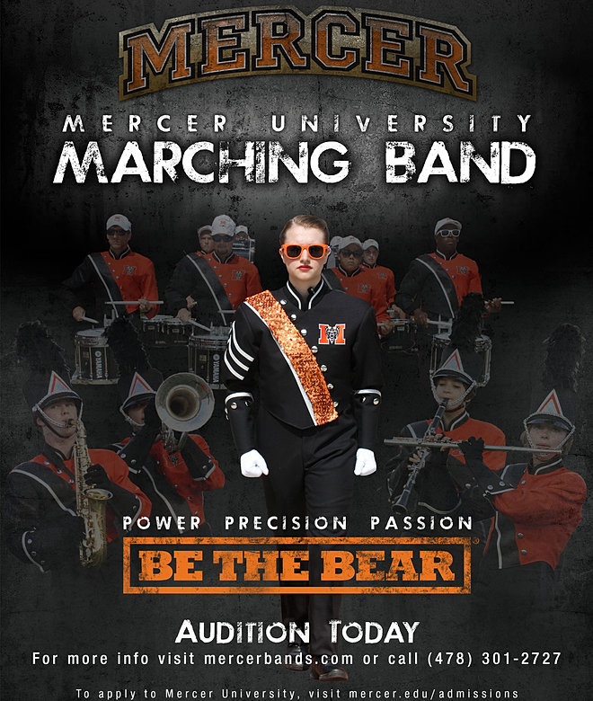 Mercer University - Mercer University Marching Band