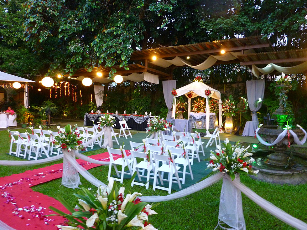 garden wedding casa espanol philippines