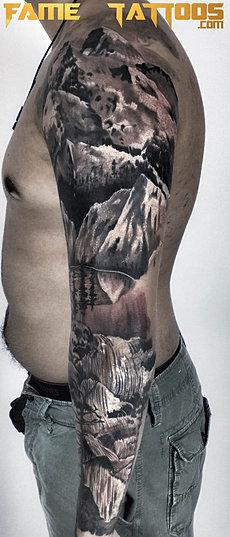 Best black and grey tattoo artist miami fl for Best tattoo artist in florida