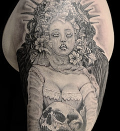 Wicked angel for Tattoo shops in buford ga