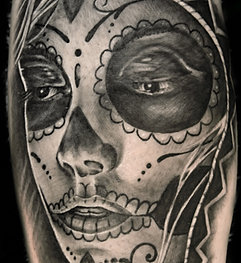 Day of the dead tattoo for Tattoo shops in buford ga