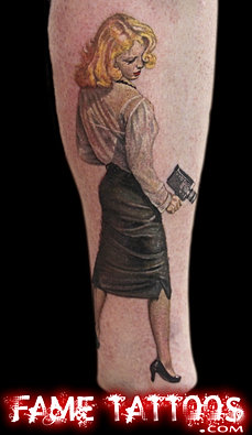 Best realistic color tattoos artist miami fl for Best tattoo artist in florida