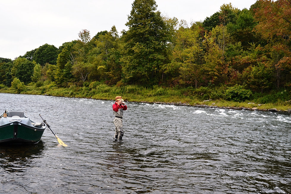 Nymphing the main delaware for Seven b s fishing report