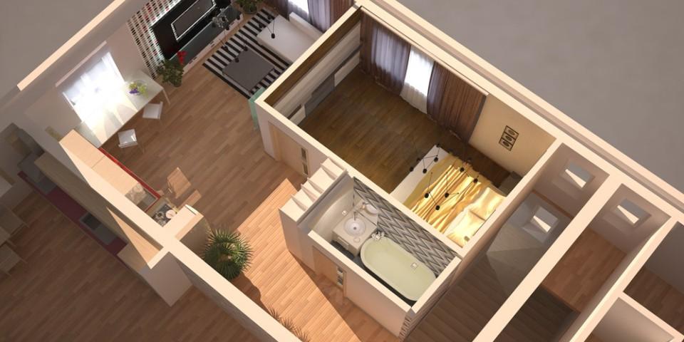 Квартира 49 кв м дизайн