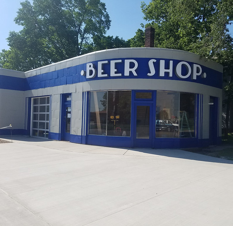 Beer Shop outside sign