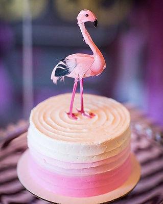 Bold Bride Wedding Cake