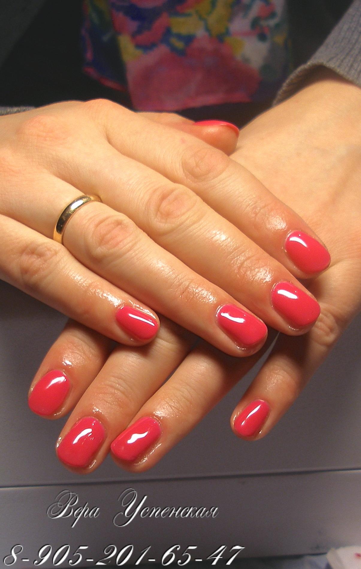 Фото шеллак на длинных ногтях дизайн
