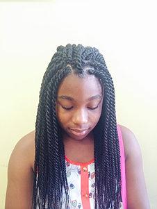 Senegalese Twists Sunu Hair