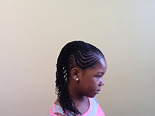 Cornrows with Extensions