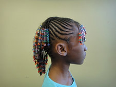 Cornrows without Extensions