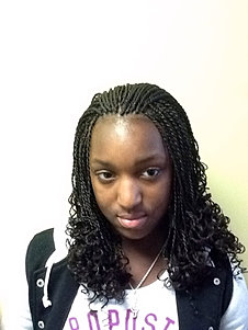 Braiding - Curly Senegalese Twists