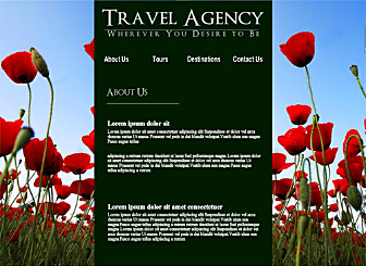 Travel International Template - This Corporate looking Website template is easy to customize and lets you present all your products and offers that your customers are looking for in real time. Just edit to make it your own in no time at all.