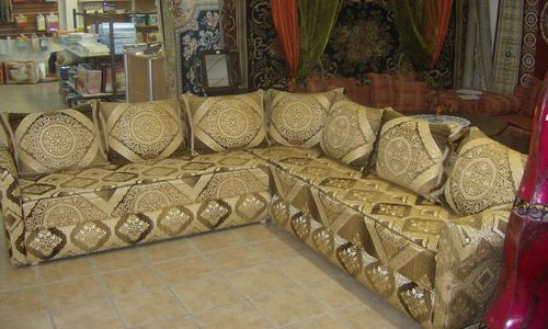 Salons marocains created by homediscount based on for Kit tissus salon marocain