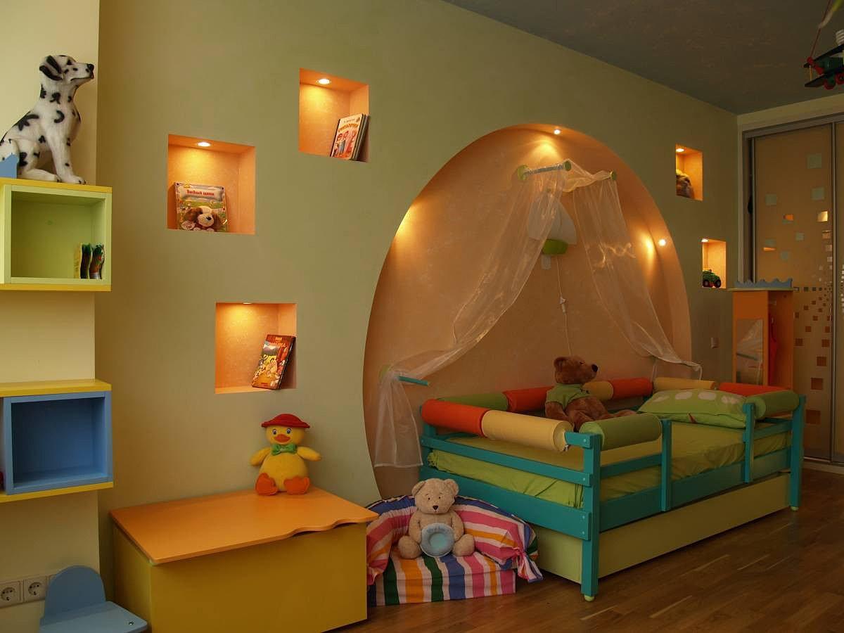 Фото детской комнаты своими руками в хрущевке