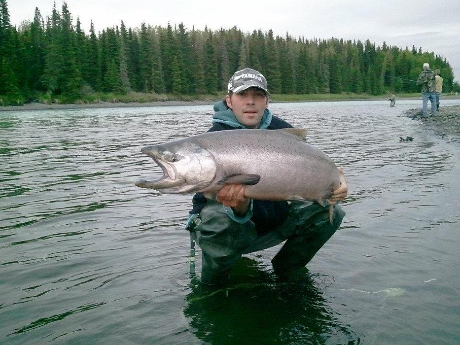 D 39 s fishing company for King salmon fishing alaska