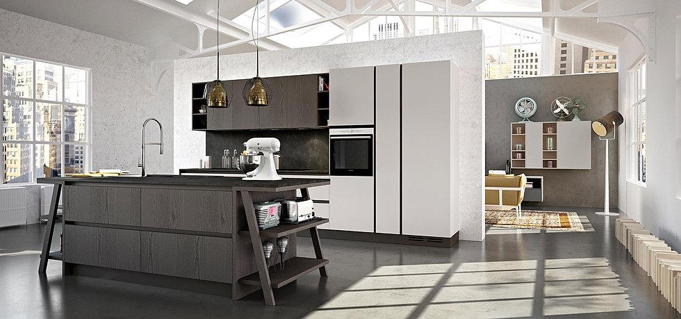 mazzola arredamenti | specialisti in cucine cesano maderno - Cucine Moderne Bianche E Nere