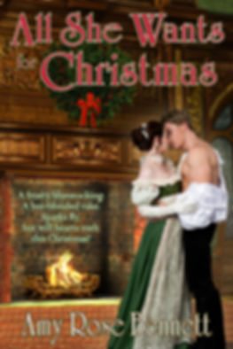 All She Wants for Christmas by Amy Rose Bennett