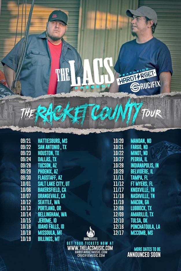 The lacs tour dates