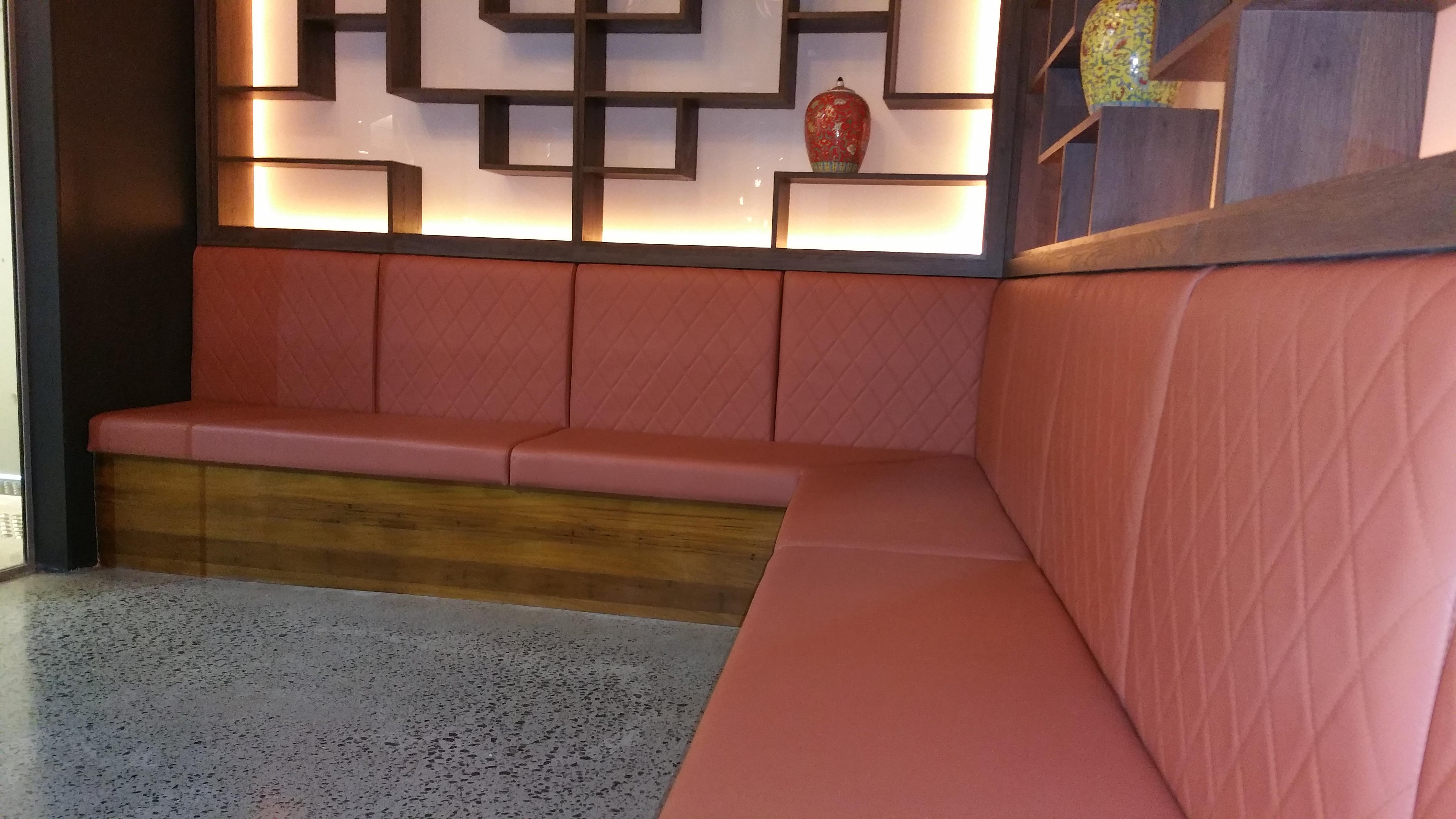 Banquette upholstery gold coast