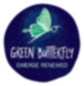 Branding Green Butterfly Logo