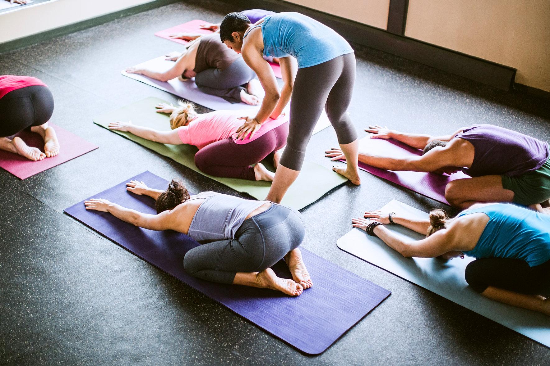 yoga health center