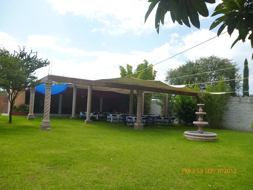 Sal n de fiestas jard n de fiestas eventos quer taro for Menzah 5 salon de the