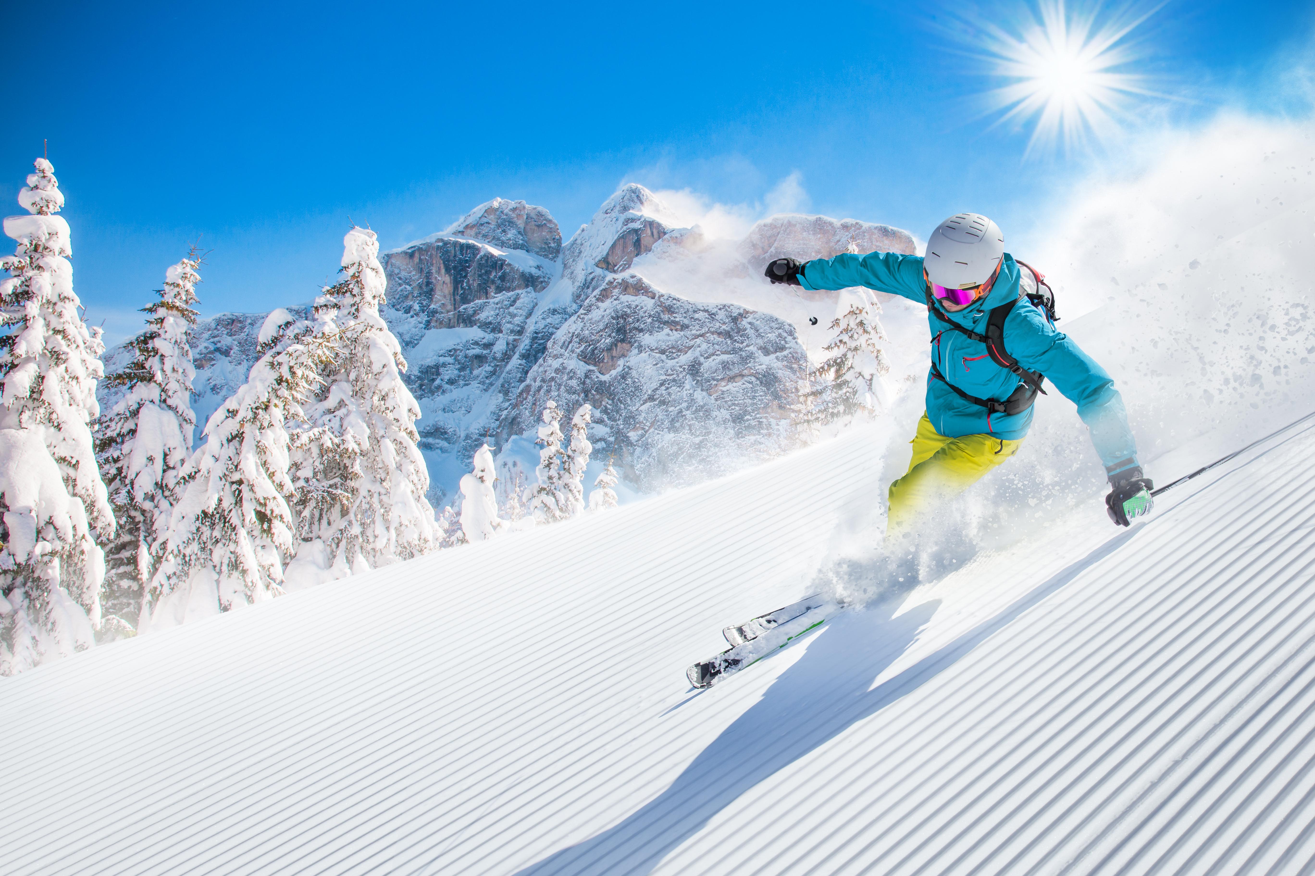 ski, alpen, sneeuwvakantie