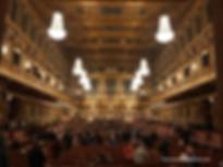 Çocuklarla Viyana Seyahati, çocukla Viyana'da gezilecek görülecek yerler, Musikverein'da Viyana Filarmoni konserleri