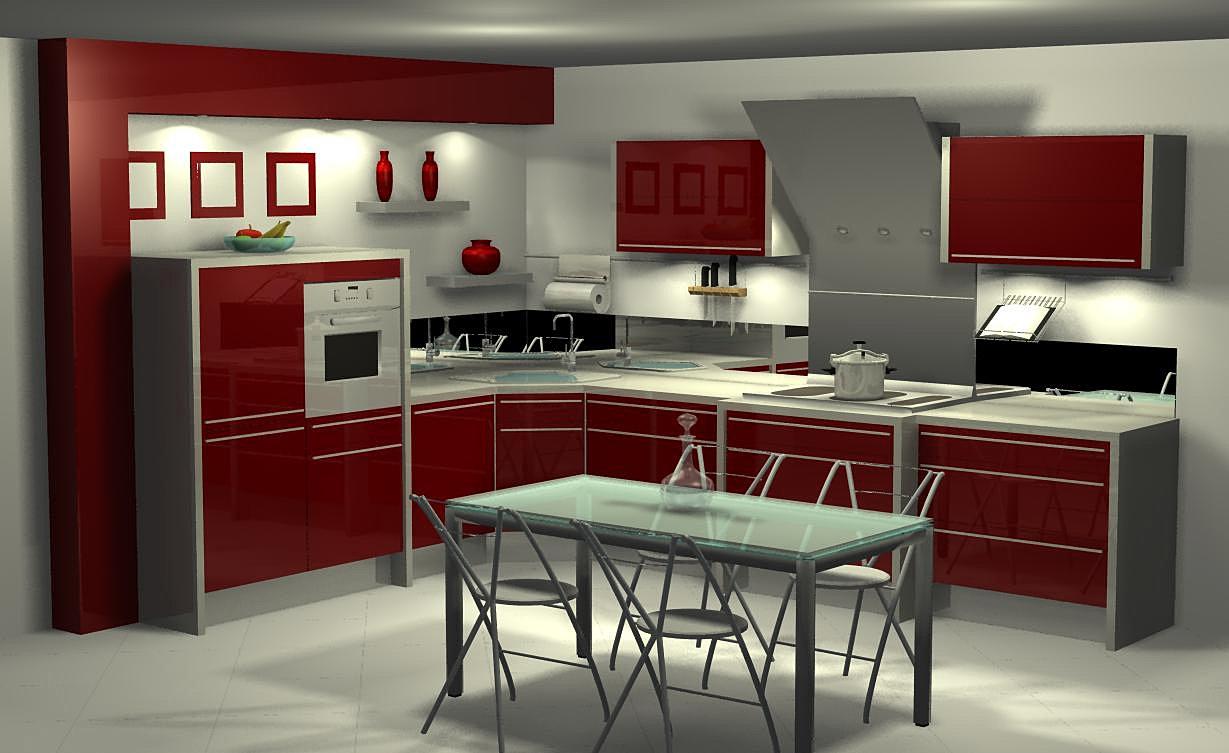 Cuisine am nag e moderne design for Cuisine amenagee moderne