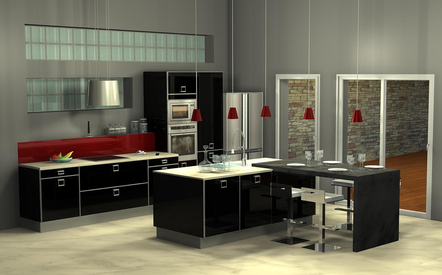 Cuisines Modernes Estrie : menuisart cuisine moderne, cuisine design dressing Vichy  cuisine