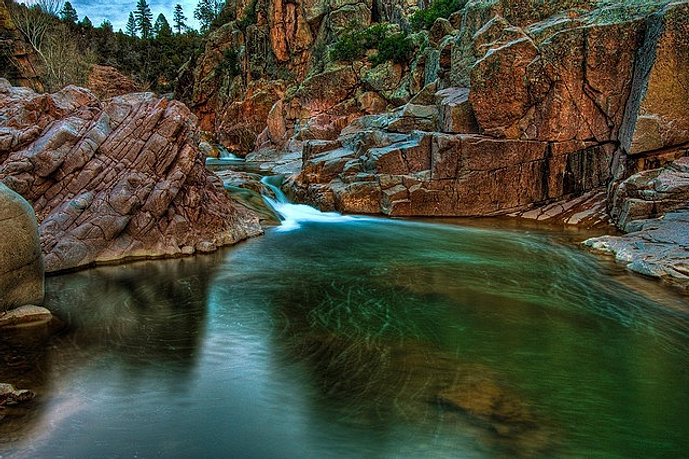 Town of payson fishing spots for Fishing spots in arizona