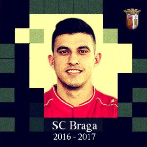Rodrigo Battaglia  (SC Braga) é o quarto reforço confirmado do Sporting para 2017/2018.